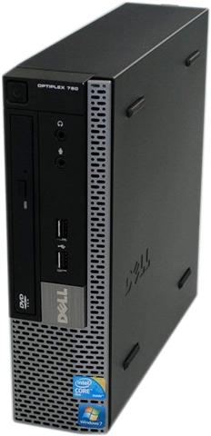 Dell Optiplex 780/E5800/4GB Ram/250GB HDD/DVD-RW/Windows 7/B