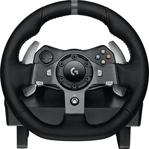 41e8b37e687 Logitech G920 Driving Force Racing Wheel+Pedals (Xbox One+PC), A ...