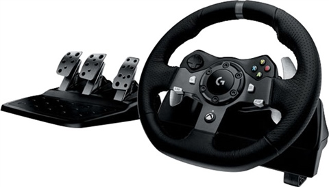 Logitech G920 Driving Force Racing Wheel+Pedals (Xbox One+PC