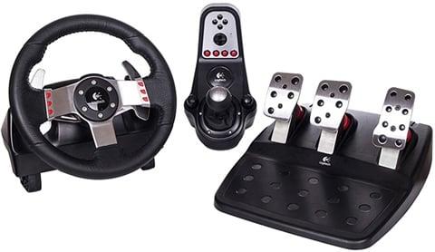 42fbcaf46e9 Logitech G27 Racing Wheel + Pedal & Shift, B - CeX (UK): - Buy, Sell ...