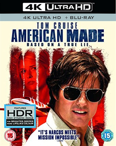 American Made (15) 2017 4K UHD+BR - CeX (UK): - Buy, Sell, Donate