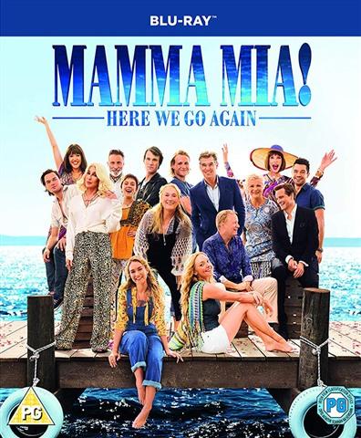 Mamma Mia! Here We Go Again (PG) 2018 (2 Disc) - CeX (UK): - Buy