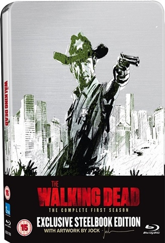 Walking Dead The Season 1 15 Limited Ed Steelbook