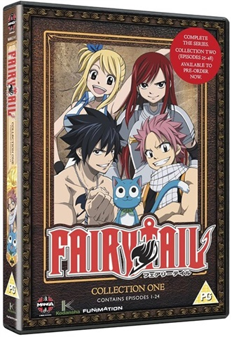 Fairy Tail: Collection 1 Ep 1-24 (PG) - CeX (UK): - Buy
