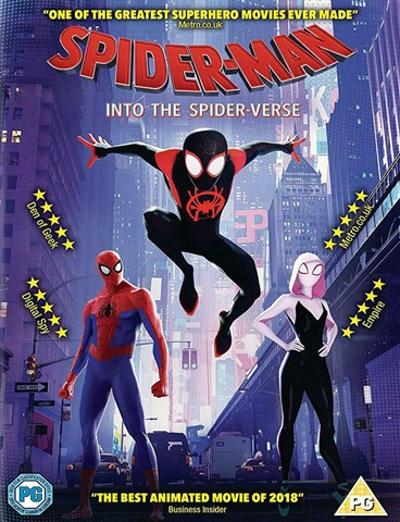 Spider-Man: Into The Spider-Verse (PG) 2018 - CeX (UK): - Buy, Sell