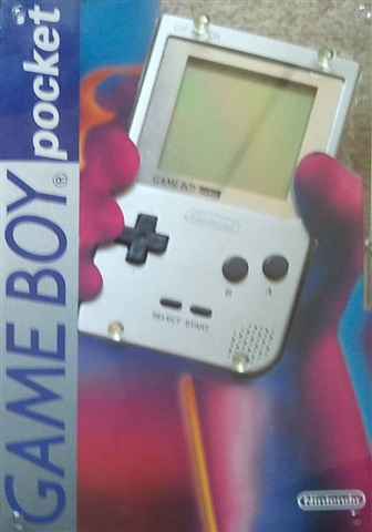 Game Boy Pocket Console Silver (W/ Silver Border), Boxed - CeX (UK