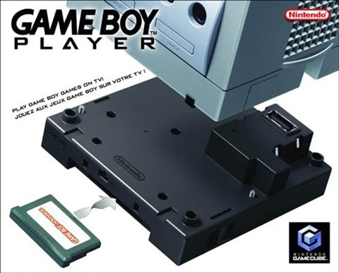 Official Gameboy Player & Software Disc box