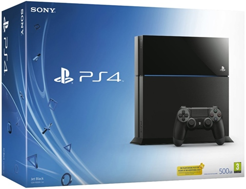 Playstation 4 Console, 500GB Black, Boxed - CeX (UK): - Buy, Sell