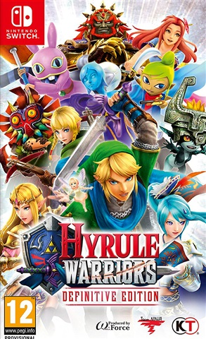Hyrule Warriors Definitive Edition Cex Uk Buy Sell Donate