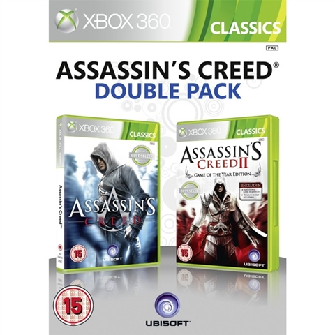 Assassin S Creed Double Pack 15 Cex Uk Buy Sell Donate