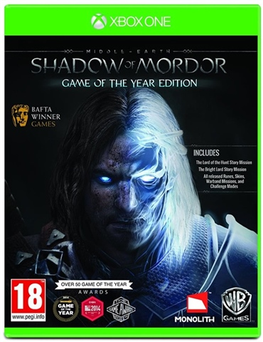 Middle-Earth: Shadow of Mordor Game Of The Year Edition - CeX (UK