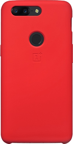 separation shoes ec353 331ac OnePlus 5T Silicone Protective Case Red - CeX (UK): - Buy, Sell, Donate