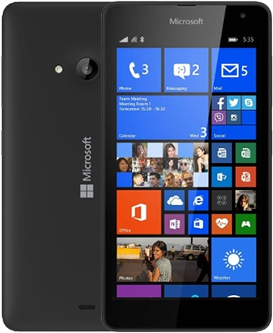 Microsoft Lumia 535 8GB Black, O2 B - CeX (UK): - Buy, Sell